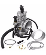 Mikuni TMX 38mm 38 mm Carb Carburetor Kit Radial Flat Slide TMX38-18-K C... - $164.95