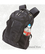 "Black Polyester 20"" Executive Backpack with Padded Laptop Compartment - $46.99"