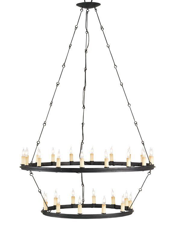 Primary image for Currey Company Restoration Blacksmith Hardware Toulouse 30 Light Chandelier