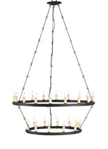 Currey Company Restoration Blacksmith Hardware Toulouse 30 Light Chandelier - $1,604.79