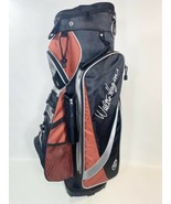 Walter Hagen 13 Slot Cart Golf Bag Orange Black - $76.23