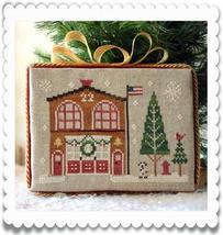 Firehouse release #7 Hometown Holidays cross stitch Little House Needlew... - $5.40
