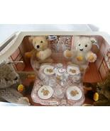Steiff Bears at Tea Party - $143.55
