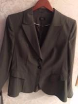 Pre-owned BASLER BLACK LABEL Wool Blend Gray Blazer SZ 42 - $158.39