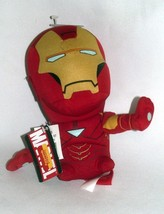 "Plush Iron Man Deformed Doll Marvel Avengers 7"" Large Head Tony Stark Re... - $14.84"