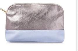 Ulta Silver & Blue Cosmetic Bag New - $5.99