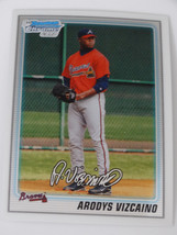 2010 Bowman Chrome BCP211 Arodys Vizcaino Atlanta Braves Rookie RC Baseb... - $1.00