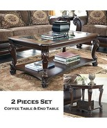 HAMPTON - 2pcs Old World Rectangular Cocktail C... - $682.85