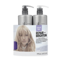 Paul Mitchell Forever Blonde Shampoo & Conditioner Toning Spray Duo 24 oz  - $37.52