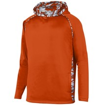 Augusta 5539 Youth Mod Camo Hoody - Orange/Orange Mod - $26.11