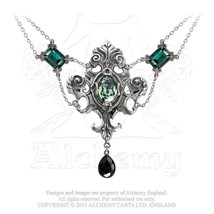 Queen of the Night Necklace by Alchemy Gothic - $79.95