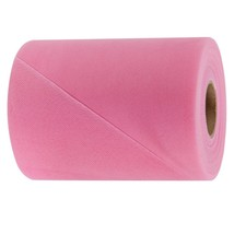 """Med Pink decorating tulle bolt each spool is 6"""" x 25 yards for bows and draping - $2.69+"""