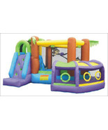Inflatable Bounce House Outdoor Birthday Party Explore Fun Jump Play Kid... - $879.99