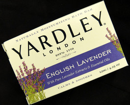Yardley London English Lavender 4.25 oz Bar Soa... - $12.38