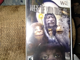 Nintendo Wii Where The Wild Things Are image 1