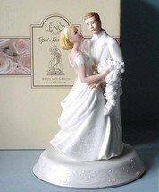 Lenox Opal Innocence Cake Topper Wedding Day Br... - $41.90