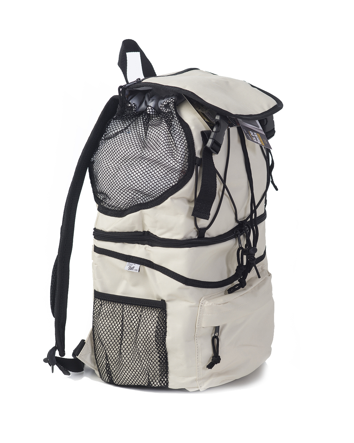 Backpack Cooler For Picnic Time-Beach-Biking-Hiking-School-Sports Events-Black