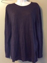 Michael Kors Long Brown Rayon Ramie Knit L/S Sweater Size S Small - $14.50