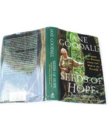 Book by Jane Goodall, Seeds of Hope, Wisdom and Wonder from The World of... - $18.00