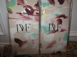2 Diane Von Furstenberg Rainbow Garden King Shams - $85.45