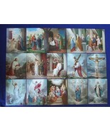"""15 MYSTERIES of the ROSARY Catholic Pictures Print 8x10"""" from Italy - $39.25"""
