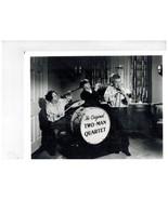 3 Stooges 2-Man Quartet 2 Moe Larry Curly 118 8X10 BW TV Memorabilia Photo - $4.99