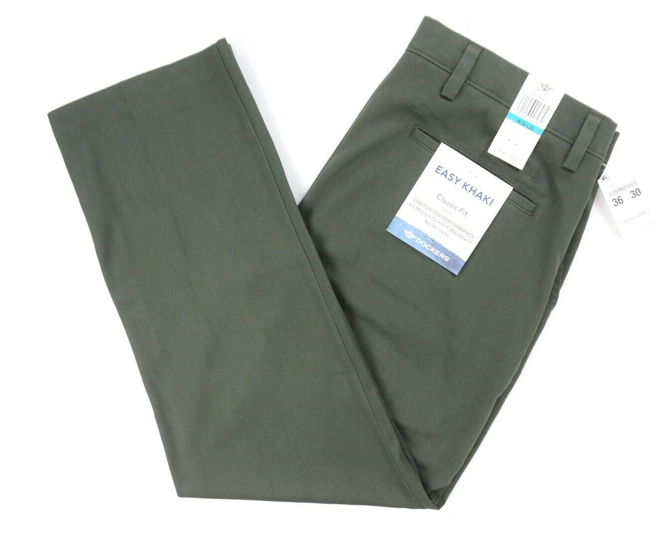 New with Tag Dockers The Broken In Mist Slim Tapered Leg Pants Size 38X32