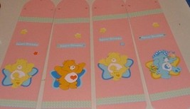 CUSTOM  CEILING FAN WITH CARE BEARS STARS ~ PINK BLADES - $89.98