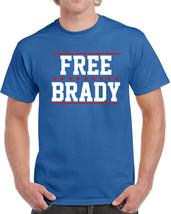 277 Free Brady Mens T-Shirt football deflate gate new england quarterback new - $15.00+