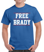 277 Free Brady Mens T-Shirt football deflate gate new england quarterbac... - $15.00+