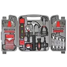 Tool Set Box Mechanics Hand Kit Case Repair Garage Home Wrenches Apollo ... - $44.99