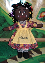 Doll from the Bahamas - (Black Plush Doll) - $5.95