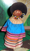 Doll from the Bahamas - (Black Plush Doll) - $2.00