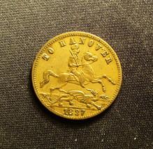 Queen Victoria 'To Hanover' Gaming Token - $9.00