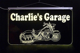 Motorcycle LED Sign, Man Cave, Garage Sign, Personalized Gift, Handmade image 5