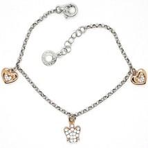 Silver Bracelet 925, Heart Angel, Zircon, Roberto Giannotti, GIA333 - $131.68