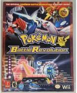 Pokemon Battle Revolution Strategy Guide Nintendo Wii - $3.95