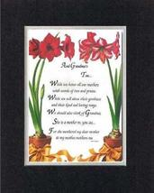 Touching and Heartfelt Poem for Grandparents - [And Grandmas Too. ] on 1... - $16.33
