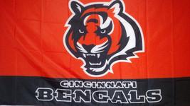 Cincinnati Bengals  3 X 5 Flag - $14.80