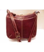 Classic Etienne Aigner Shoulderbag Handbag Brown Leather - $24.14