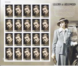 INGRID BERMAN (1915-1982) - 20 (USPS) SHEET FOREVER STAMPS - $14.95