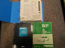 1993 Mazda MX-3 MX3 Service Repair Shop Manual Set W Body Electrical + - $98.94