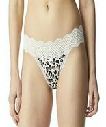 No Boundaries Women's Micro & Lace Thong Panties Size XXL (9) Animal Print - $11.38