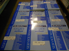 2002 Subaru Legacy Outback Service Repair Shop Manual Huge Set Factory Oem Books - $376.19