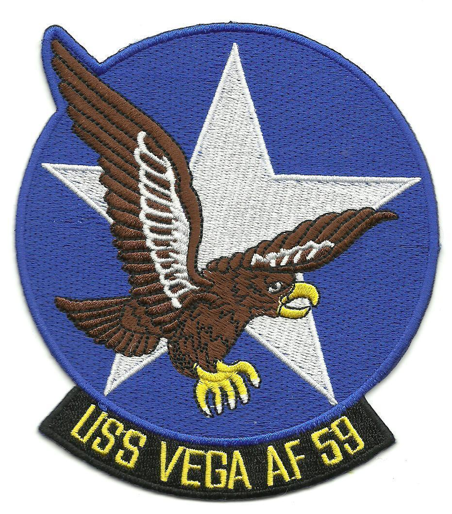 Primary image for US Navy AF-59 USS Vega Rigel-Class Stores Ship Patch