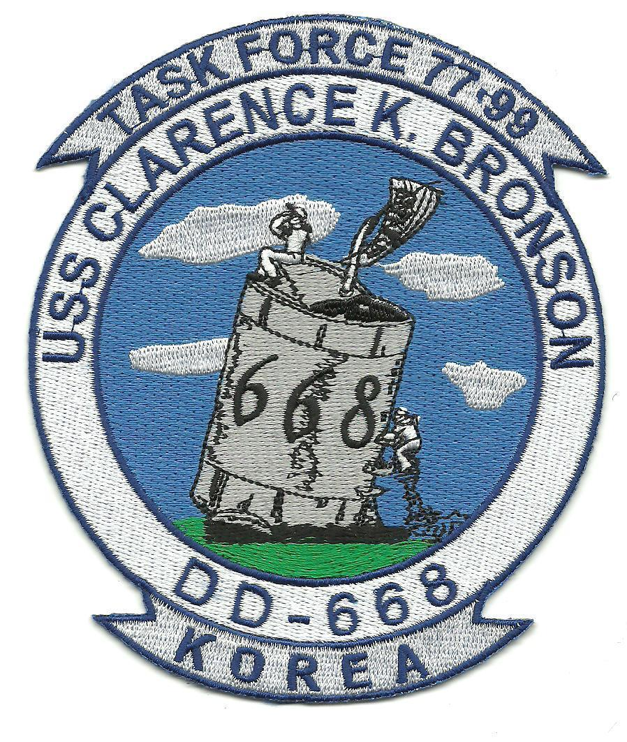 Primary image for US Navy DD-668 USS Clarence K. Bronson Fletcher -Class Destroyer Patch