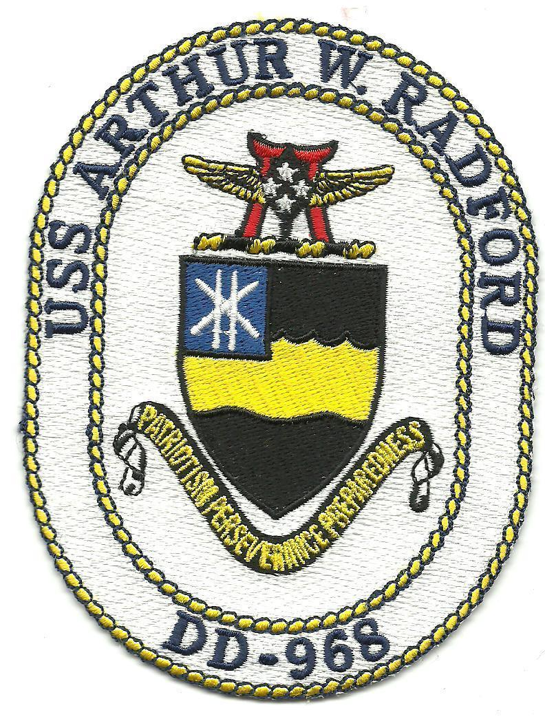 Primary image for US Navy DD-968 USS Arthur W. Radford Spruance-Class Destroyer Patch