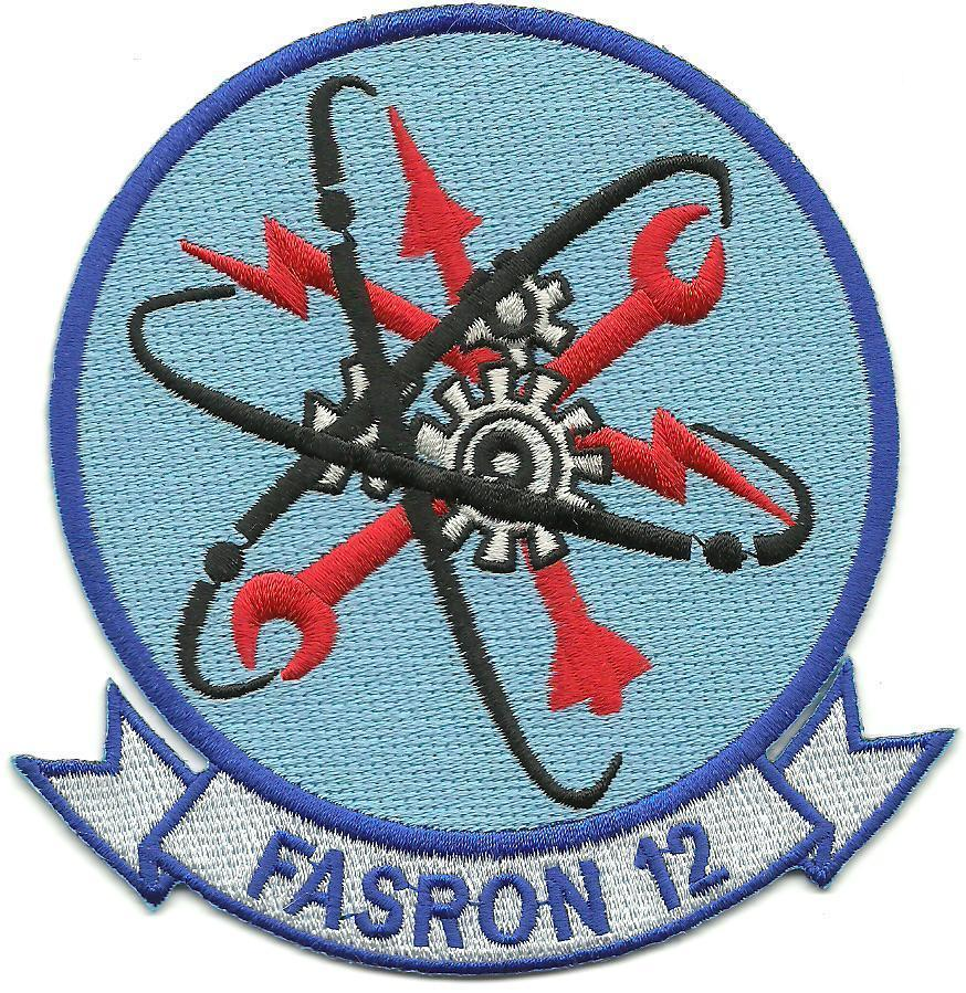 Primary image for US Navy FASRON-12 Fleet Air Service Squadrons Patch