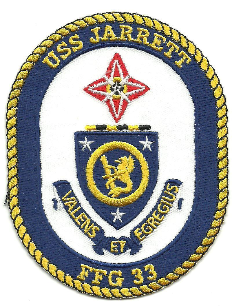 Primary image for US Navy FFG-33 USS Jarrett Oliver Hazard Guided-Missile Frigates Patch