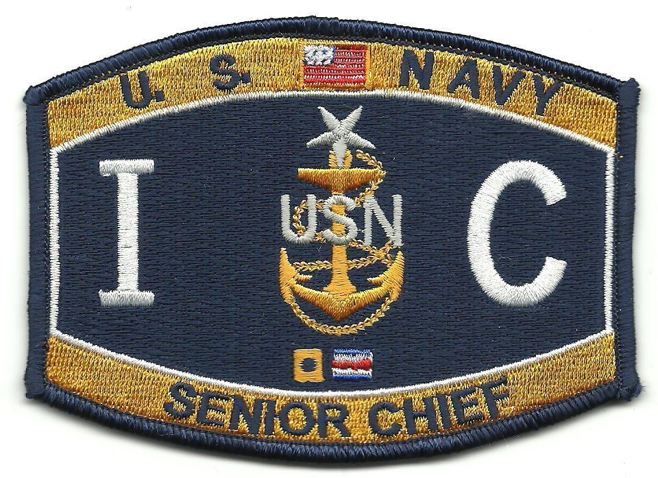 Primary image for US Navy I C Senior Chief MOS Patch